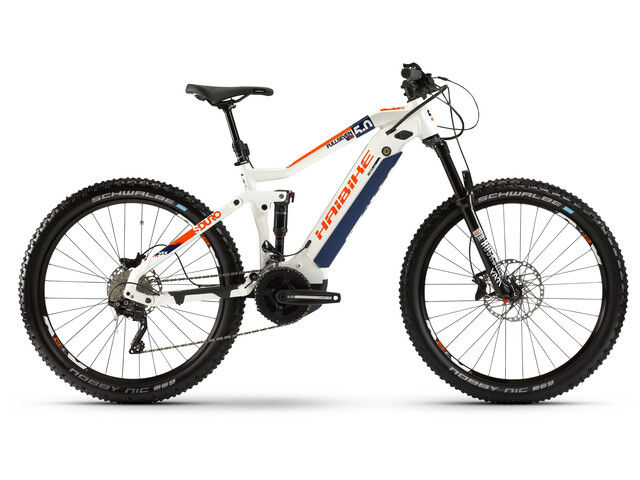 HAIBIKE SDURO FullSeven LT 5.0, white/black/orange
